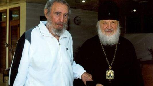 Fidel Castro_y _Patriarca_Kirill_13febrero2016