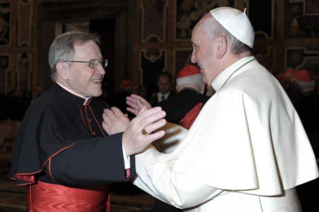 kasper and Bergoglio