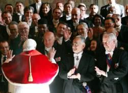 El Papa ante el cuerpo diplomatico