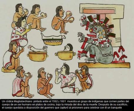 Thổ dân ăn thịt người có thần chết thưởng thức